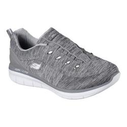 Women's Skechers Synergy 2.0 Scouted Sneaker Gray - Thumbnail 0