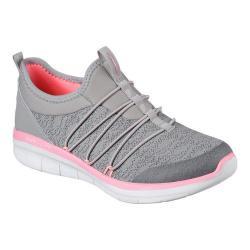 Women's Skechers Synergy 2.0 Simply Chic Slip-On Sneaker Gray/Pink