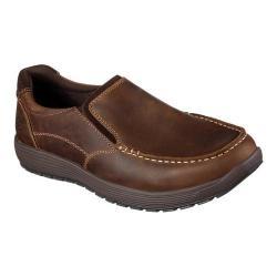 Men's Skechers Venick Perlo Loafer Dark Brown