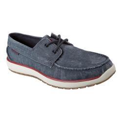 Men's Skechers Venick Romeno Boat Shoe Navy