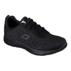 Women's Skechers Work Relaxed Fit Ghenter Slip Resistant Sneaker Black|https://ak1.ostkcdn.com/images/products/193/398/P23390331.jpg?impolicy=medium