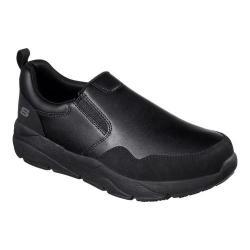 Men's Skechers Work Resterly Slip Resistant Slip-On Black