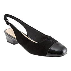 Women's Trotters Dea Black Leather