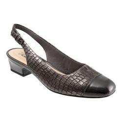 Women's Trotters Dea Pewter Leather