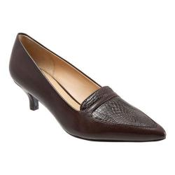Women's Trotters Piper Pump Espresso Leather