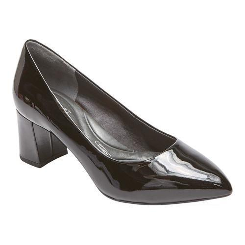 Rockport Total Motion Patent Leather Block Heel Pumps- Salima buy cheap eastbay big sale online Kjq32