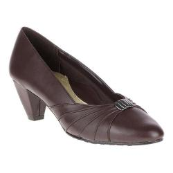 Women's Soft Style Dee Pump Dark Brown Synthetic