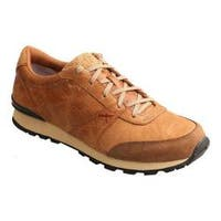 Men's Twisted X Boots Western Athleisure Sneaker Tan Rough Out Leather