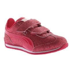 Girls' PUMA Whirlwind Glitz V PS Sneaker Love Potion/Love Potion