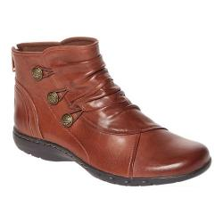 Women's Rockport Cobb Hill Penfield Slouch Boot Almond Leather