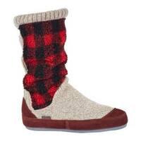Women's Acorn Slouch Boot Buffalo Check