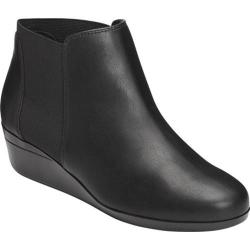 Women's Aerosoles Tried And True Chelsea Boot Black Combo Faux Leather