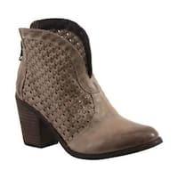 Women's Diba True Lake Land Bootie Beige Leather