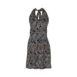 Women's Ojai Clothing Batik Halter Dress Black