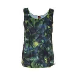 Women's Ojai Clothing Globe-Trotter Breezy Tank Top Lemongrass