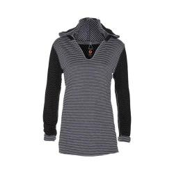 Women's Ojai Clothing Reversible Chi Hoody Black