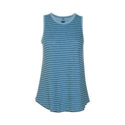 Women's Ojai Clothing Reversible Classic Tank Top Blue Topaz