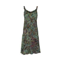 Women's Ojai Clothing Salsa Dress Celery Wildflower