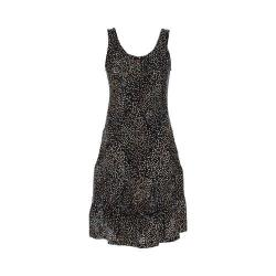 Women's Ojai Clothing Weekend Sleeveless Dress Black Dots