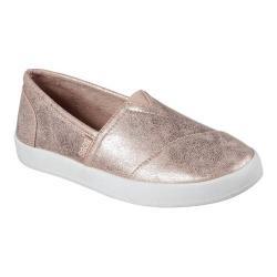 Women's Skechers BOBS B-Loved Liquid Sparkle Slip-On Sneaker Rose Gold