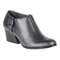 Women's Soft Style Glynis II Bootie Dark Pewter Vitello
