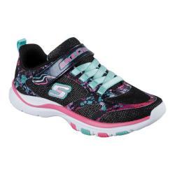 Girls' Skechers Trainer Lite Sneaker Black/Multi