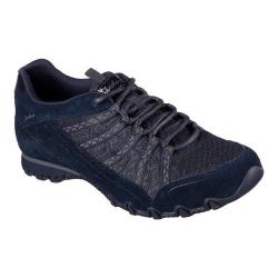 Women's Skechers Relaxed Fit Bikers Commotion Sneaker Navy
