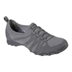 Women's Skechers Relaxed Fit Bikers Get With Knit Sneaker Charcoal