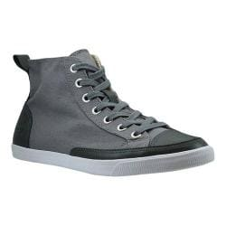 Men's Burnetie High Top Vintage Dark Grey Textile/Leather