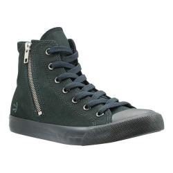 Women's Burnetie High Top Zip Black Textile|https://ak1.ostkcdn.com/images/products/193/776/P23436210.jpg?impolicy=medium