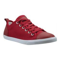 Men's Burnetie Ox Vintage Red Textile/Leather