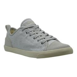 Women's Burnetie Ox Vintage Grey Perforated Textile/Leather