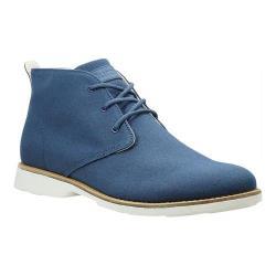Men's Burnetie X Chukka II 457171 Blue Textile
