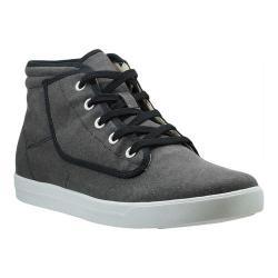 Men's Burnetie York-Hi High Top 399171 Carbon Black Textile