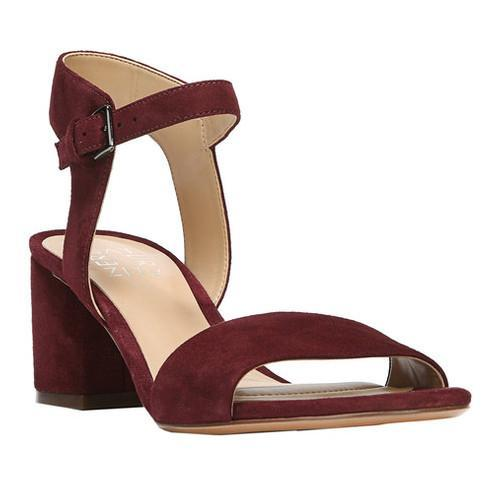 2bafdb26890d Shop Women s Naturalizer Caitlyn Ankle Strap Sandal Bordo Leather - Free  Shipping Today - Overstock - 17174410