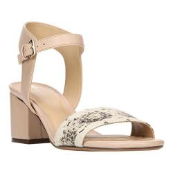 Women's Naturalizer Caitlyn Ankle Strap Sandal Taupe Leather