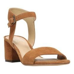 Women's Naturalizer Caitlyn Ankle Strap Sandal Whiskey Suede