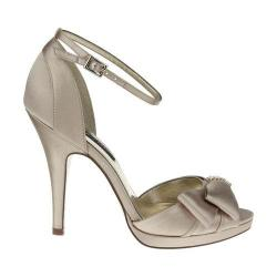 Women's Nina Earleen Champagne Satin
