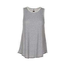 Women's Ojai Clothing Reversible Classic Tank Top Flax