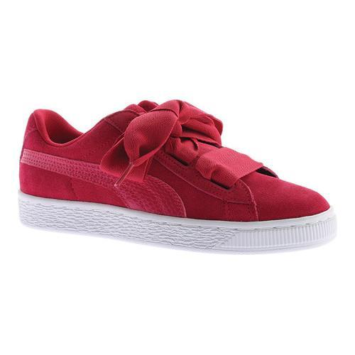 e2f273eea Shop Girls' PUMA Suede Heart SNK Jr. Sneaker Love Potion/Love Potion - Free  Shipping On Orders Over $45 - Overstock - 17174467