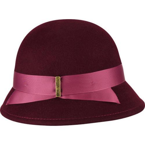 a4ff259abe6f1d Shop Women's Betmar Alcott Cloche Cranberry - Free Shipping Today -  Overstock - 17186004
