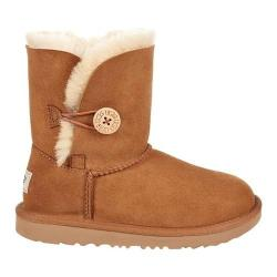 Children's UGG Bailey Button II Ankle Boot Chestnut Twinface
