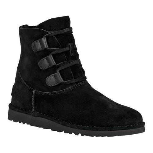 09ef276b6d1 Women's UGG Elvi Ankle Boot Black Suede