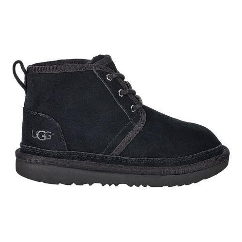 e9fac183fe7 Children's UGG Neumel II Chukka Boot Black Suede
