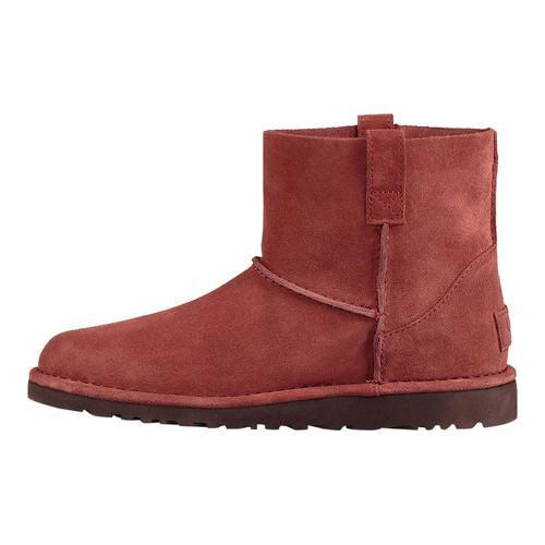 cbf0a5ae10fb Thumbnail Womenx27s UGG Classic Unlined Mini Ankle Boot Red Clay Suede ...
