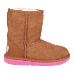 Children's UGG Classic II Boot Chestnut/Pink Azalea