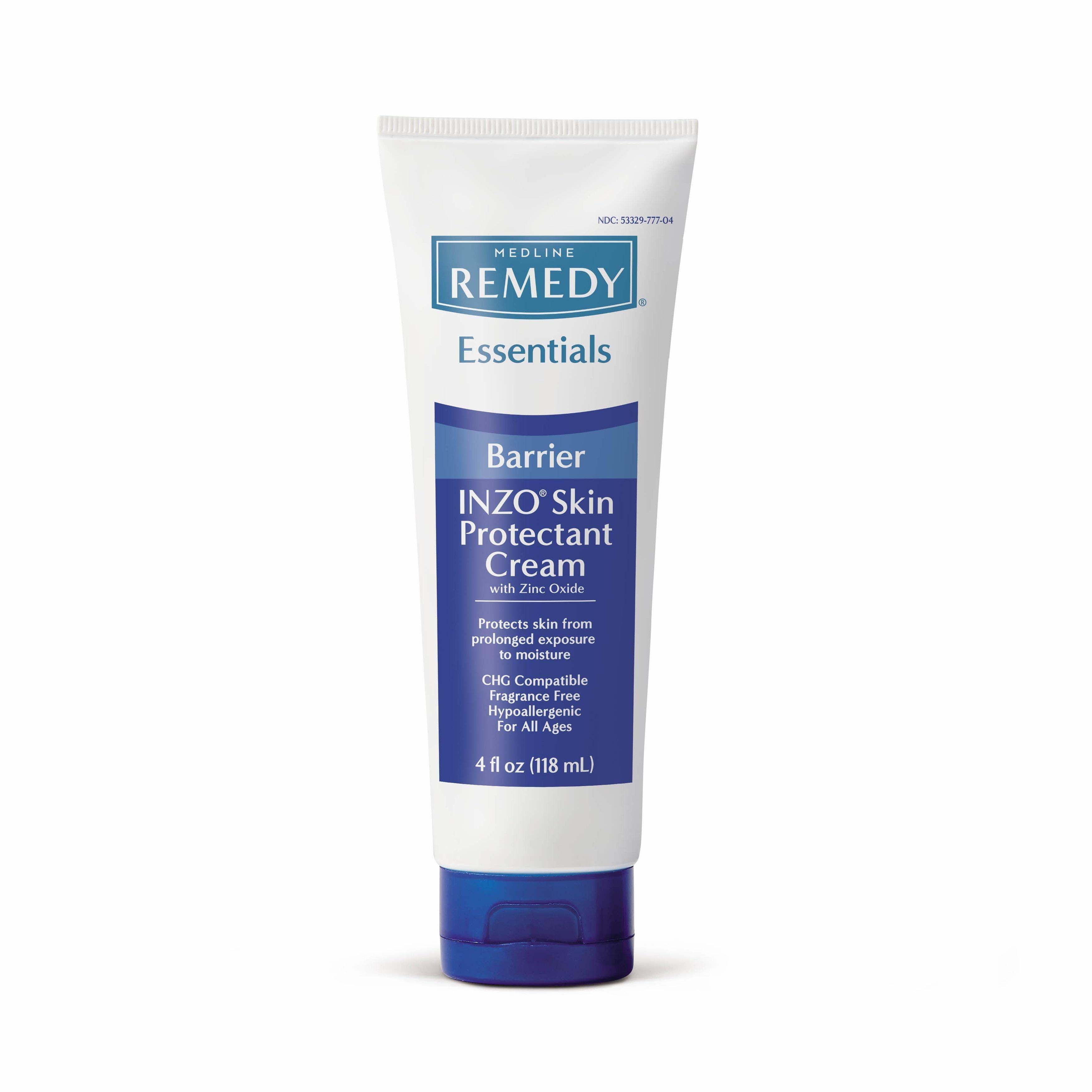 medline Sooth & Cool Inzo Zinc Oxide Cream (Ivory) (Pack ...