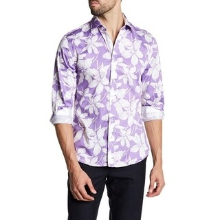 Floral Print With Lavender Back Ground