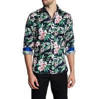 Floral Printed Dress Shirt