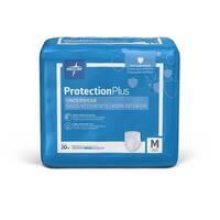 Medline Protection Plus Super Protective Adult Underwear Medium (Case of 80)